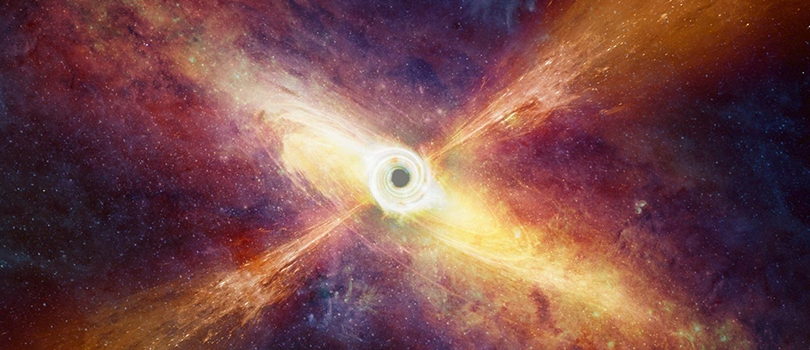 The Most Powerful Black Hole Eruption Ever Seen in the Universe