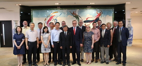 President of University of Nebraska-Lincoln Ronnie Green and Confucius Institute Educational Delegation visited Xi'an Jiaotong University